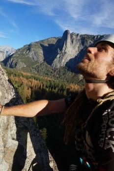 Looking at the climb ahead